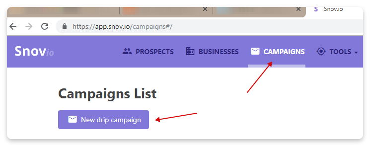 create email drip campaign