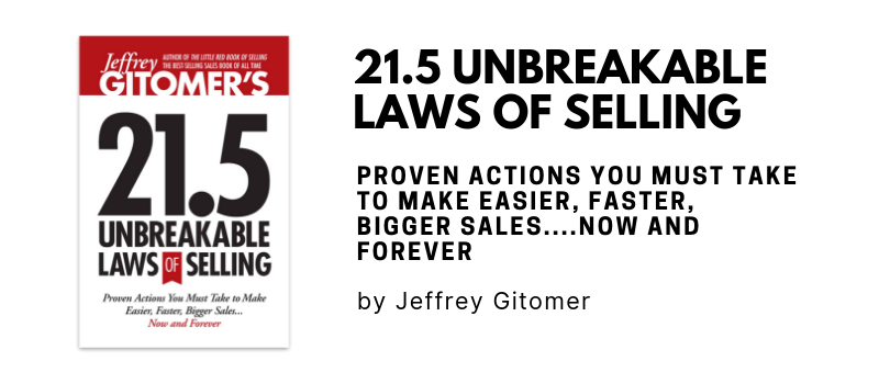 Laws of Selling