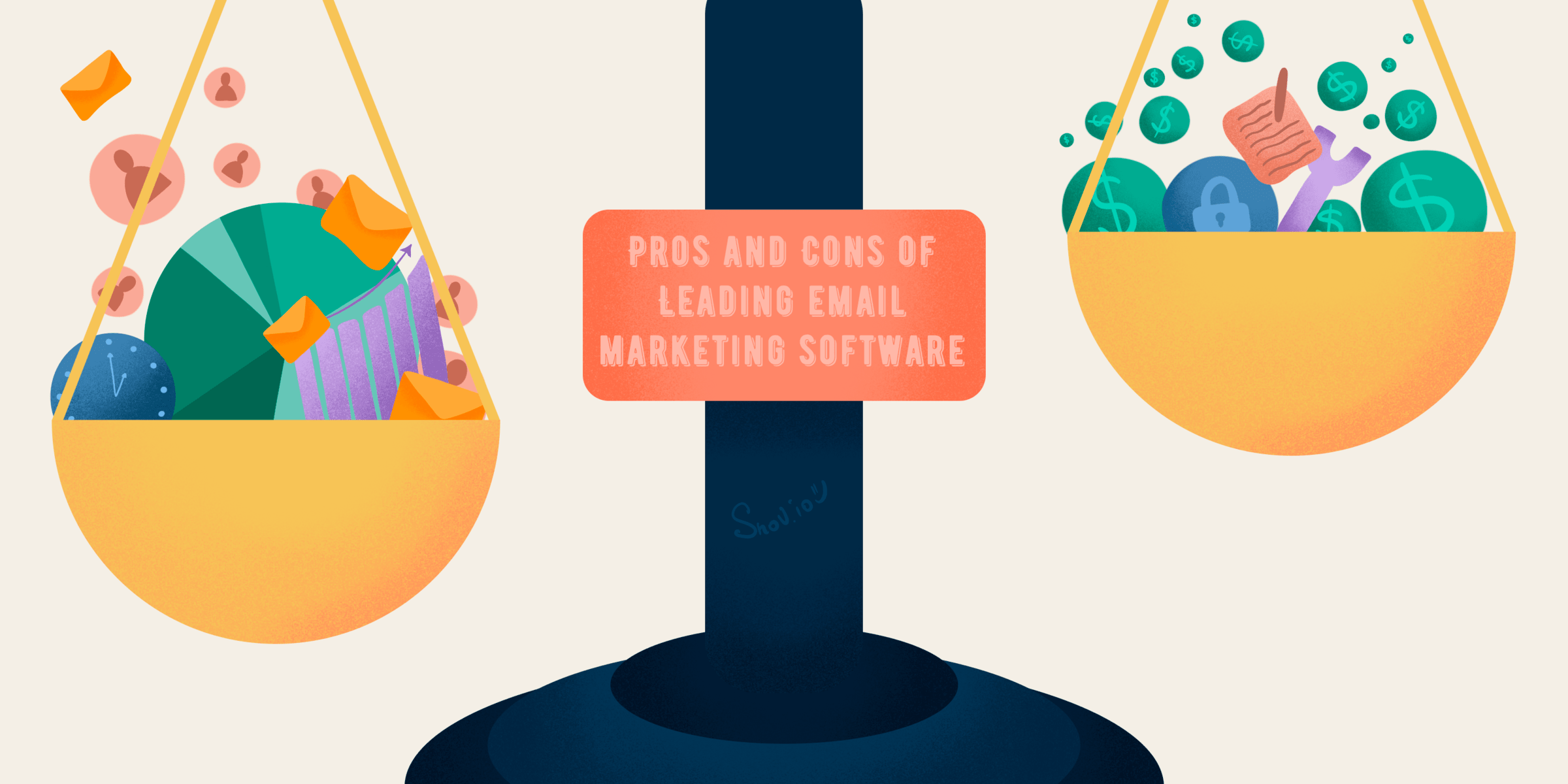 pros and cons of email marketing software