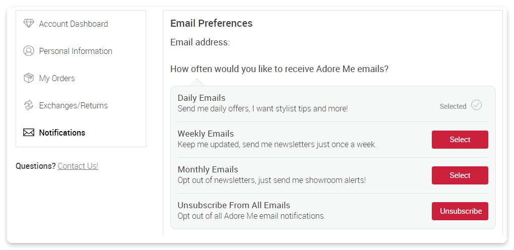 Example: Ensure your email content brings value