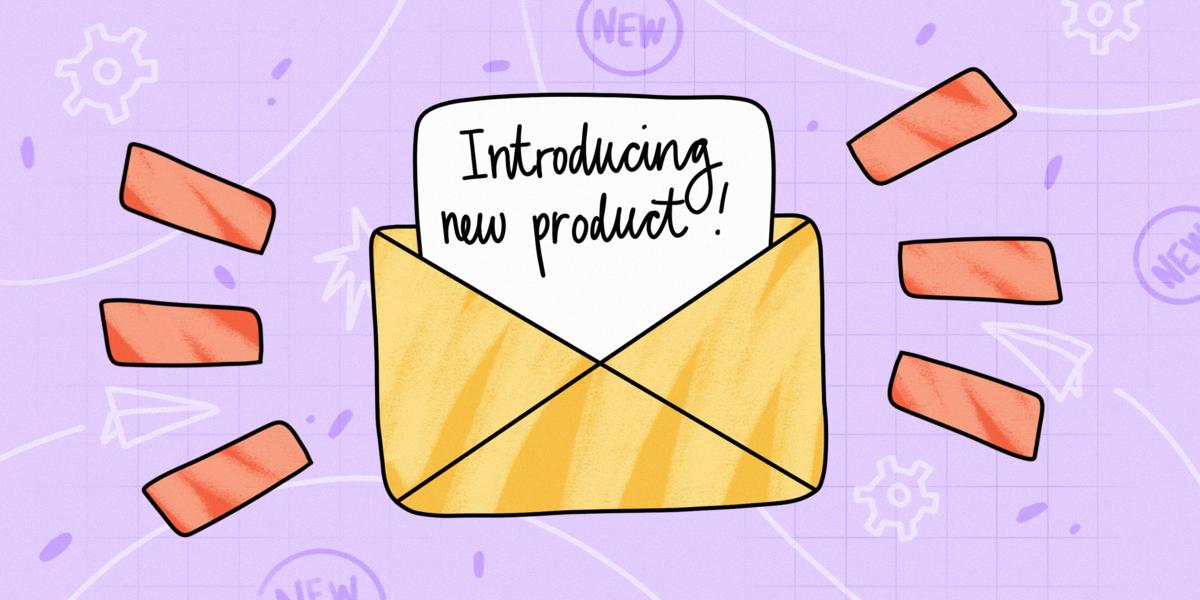 product launch announcement