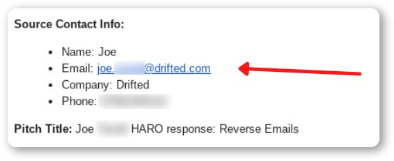 How to find contacts with HARO