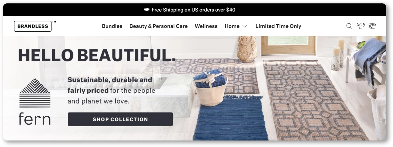 Free shipping sales promotion idea
