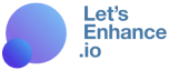 lets enhance logo